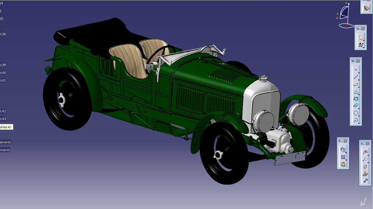 CAD-модель Bentley Blower