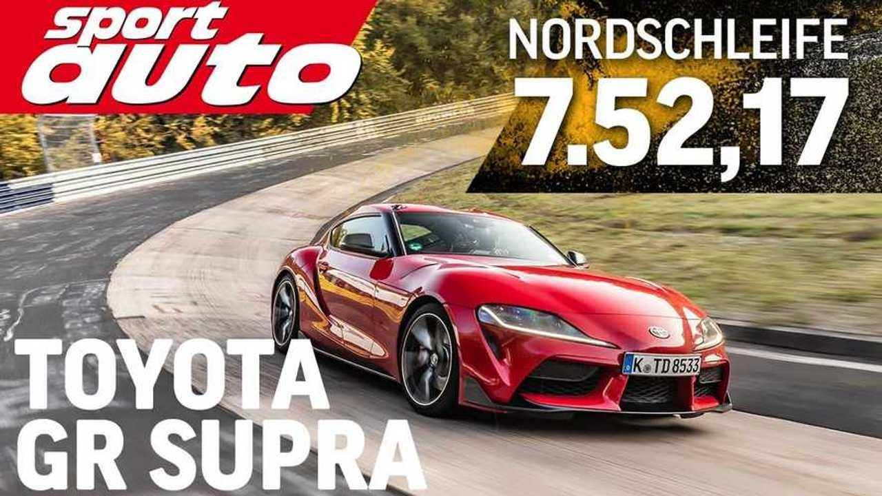 2020 Toyota Supra laps the Nürburgring In 7:52