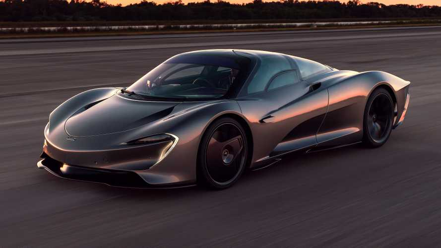 McLaren Speedtail hits 250 mph, making it the fastest McLaren ever