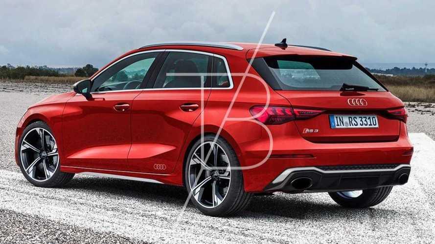 Audi RS 3 Sportback 2021 Rendering