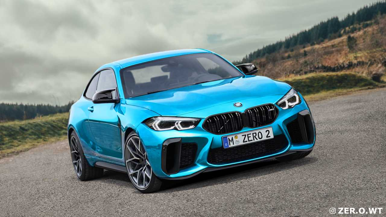 2022 BMW M2 Miami Mavi