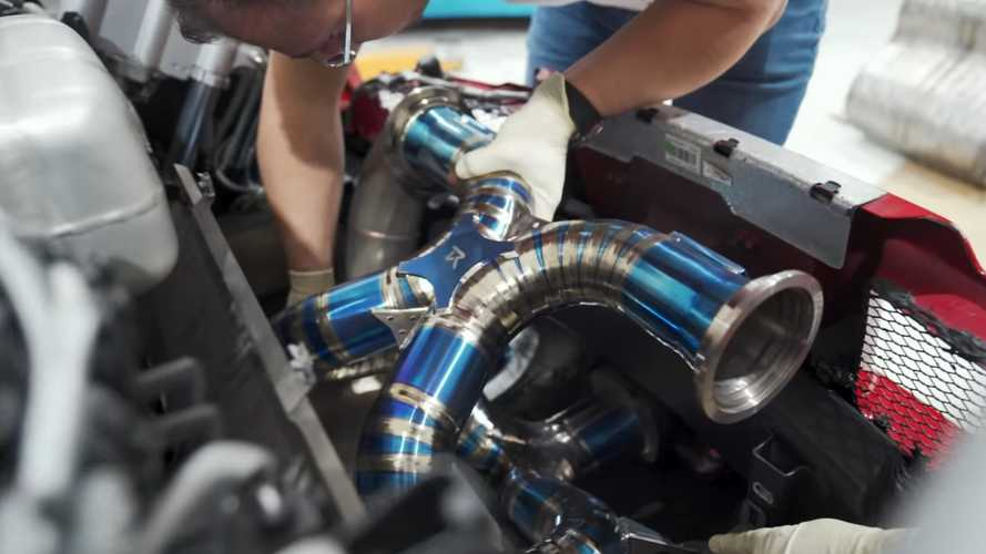 Bugatti Veyron Gets Ridiculously Loud Titanium Exhaust