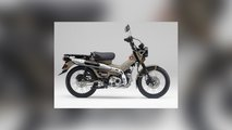 honda vritual motorcycle show ct125 huntercub