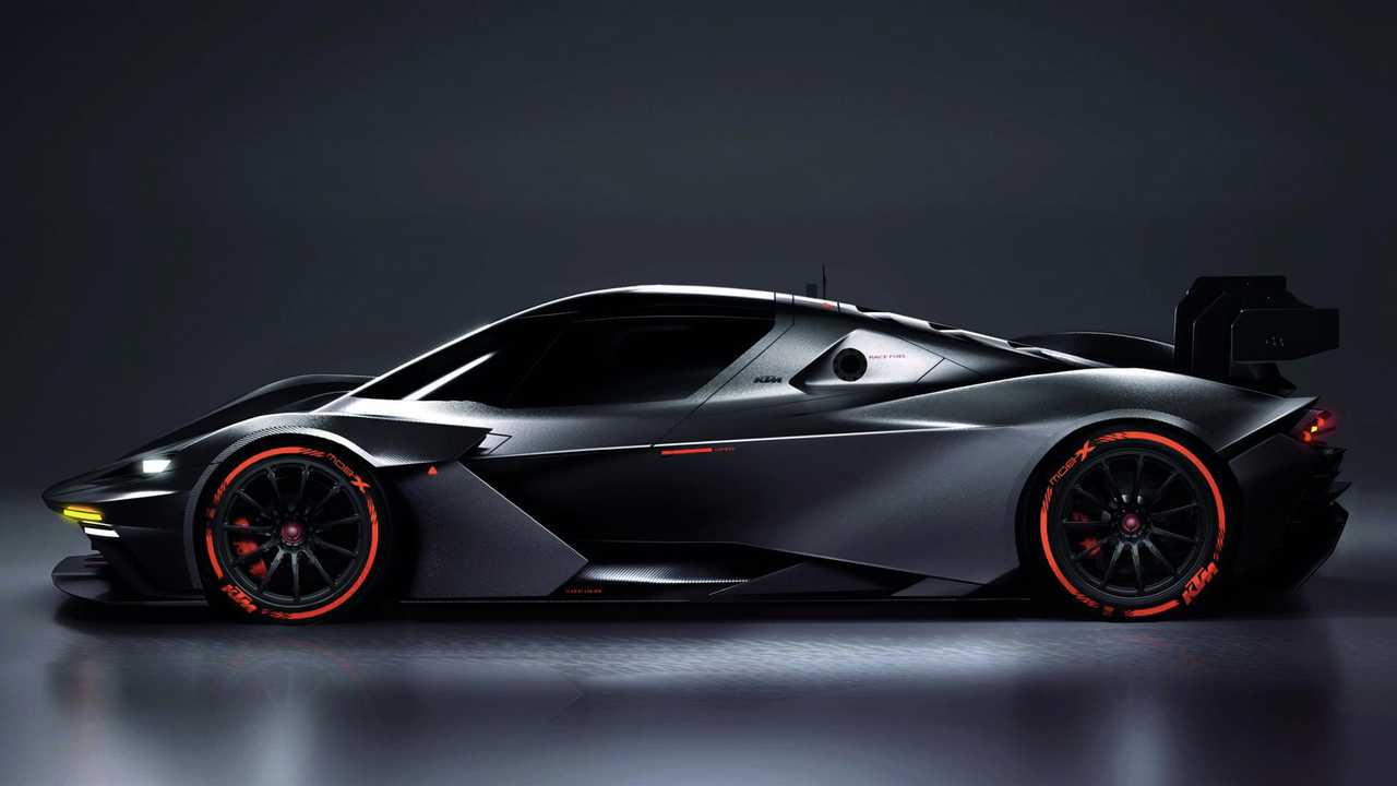 KTM introduces its second car, and it produces 600 bhp