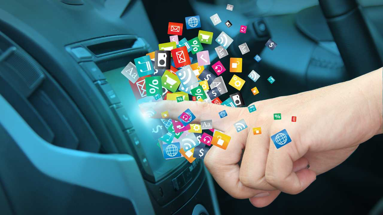 High-tech infotainment system confusion