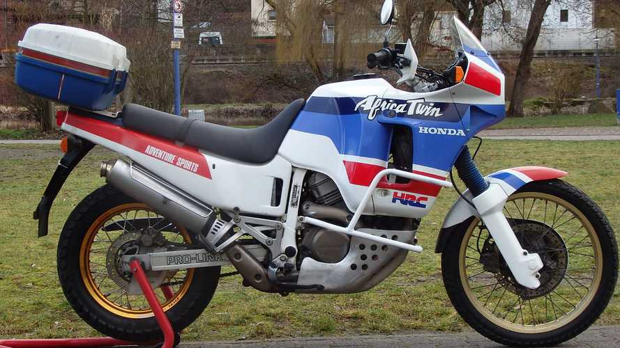 This Original Honda Africa Twin Is Looking For A New Home
