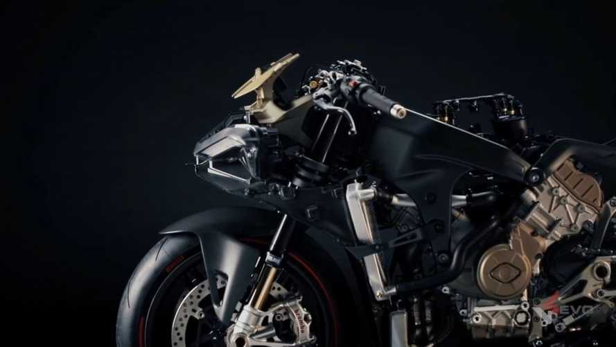Ducati Gives Us A Glimpse Of A Stripped Down V4 Superleggera