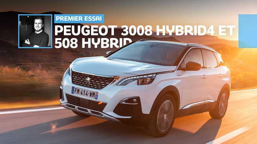 Essai Peugeot 508 HYbrid et 3008 HYbrid4 – Second souffle