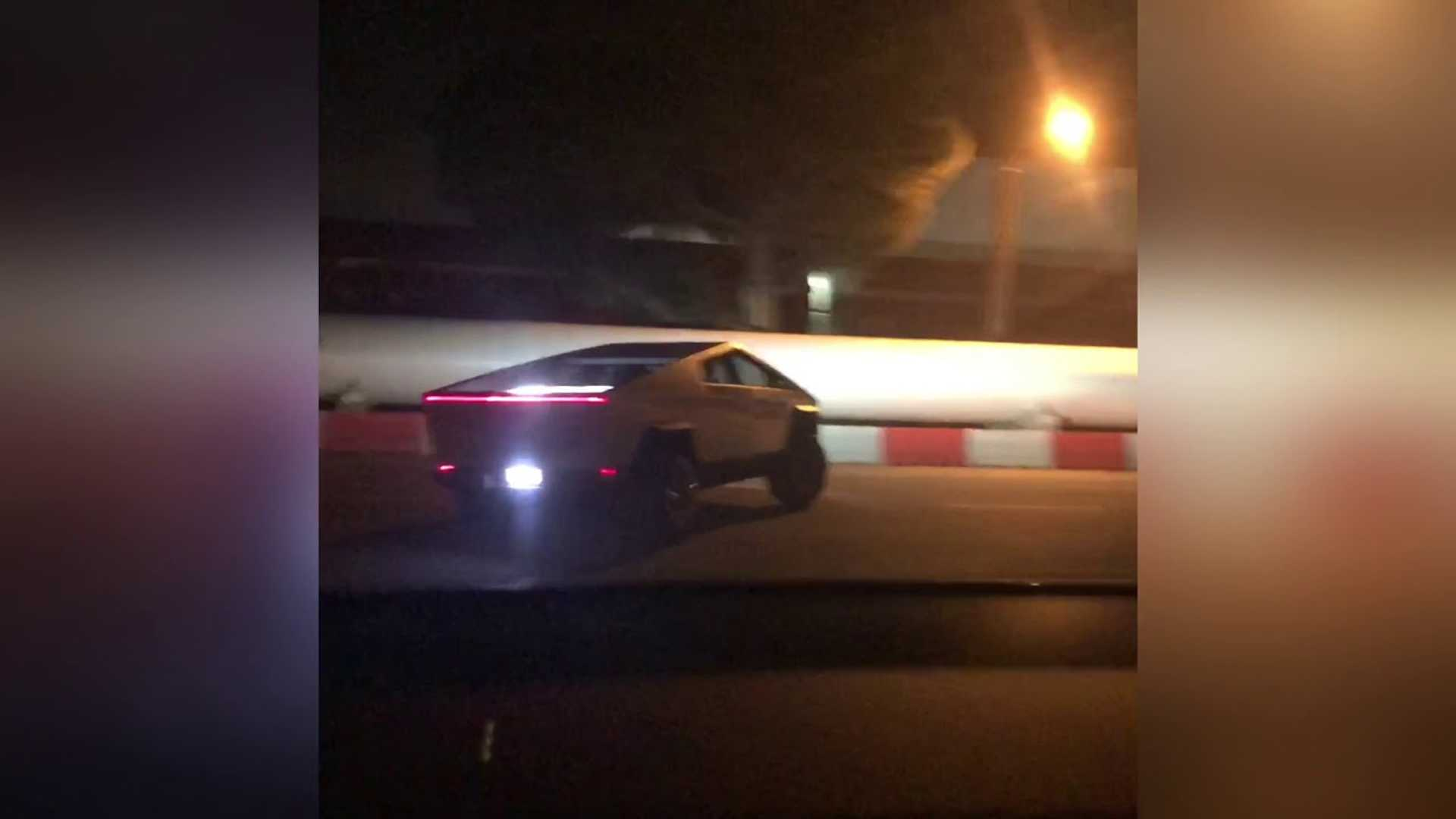 Is This Tesla Model X Really Trying To Chase The Tesla Cybertuck?