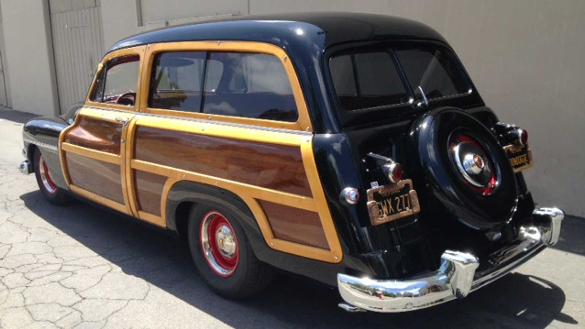 "[""Roll With This 1951 Mercury Woody Wagon""]"