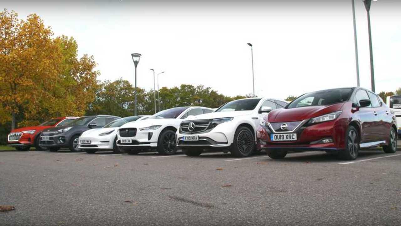 EV Range Test in the UK