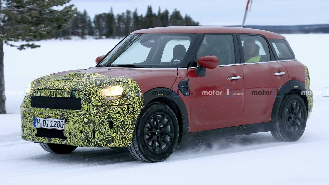 Mini Countryman Spied Testing In Snowy Environment