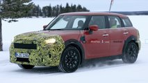mini countryman facelift spy shots