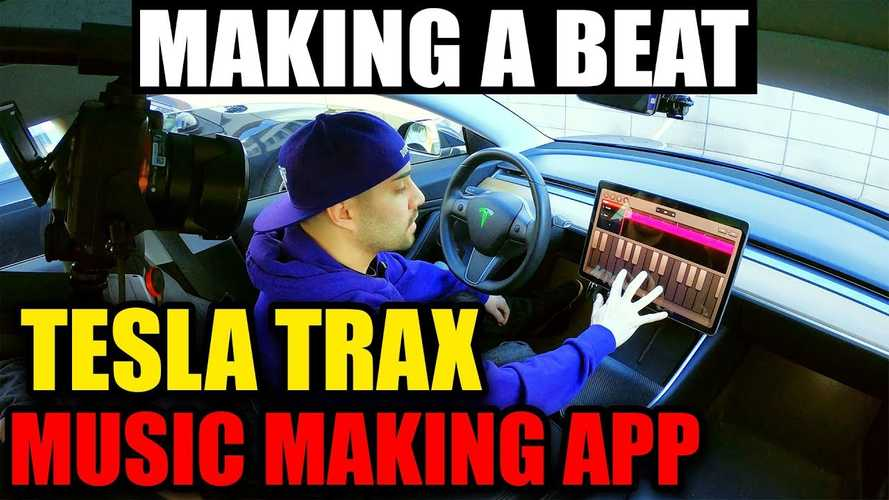 Watch Music Producer Make Hip Hop Track Using Tesla Touch Screen