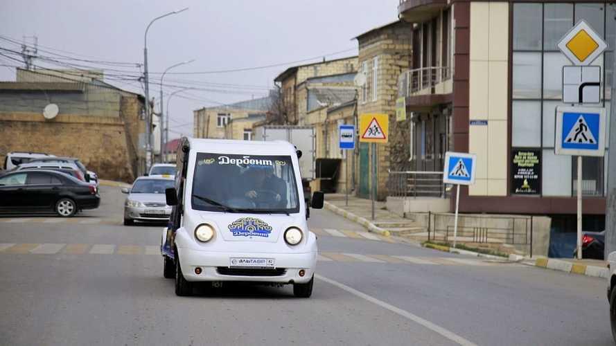 Посмотрите на «Эльтавр»: электромобиль из Крыма за 1,2 миллиона