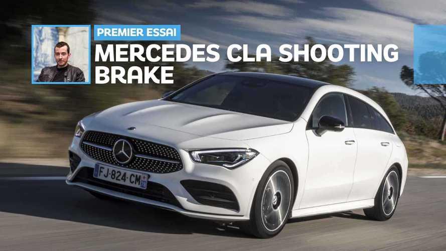 Essai Mercedes CLA Shooting Brake (2019) - Du coffre avec du style