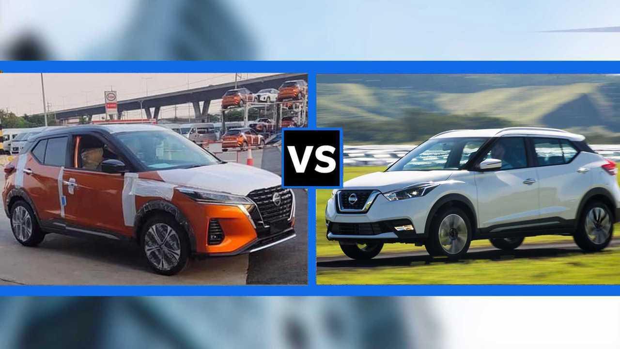 Nissan Kicks 2021 x Nissan Kicks 2020