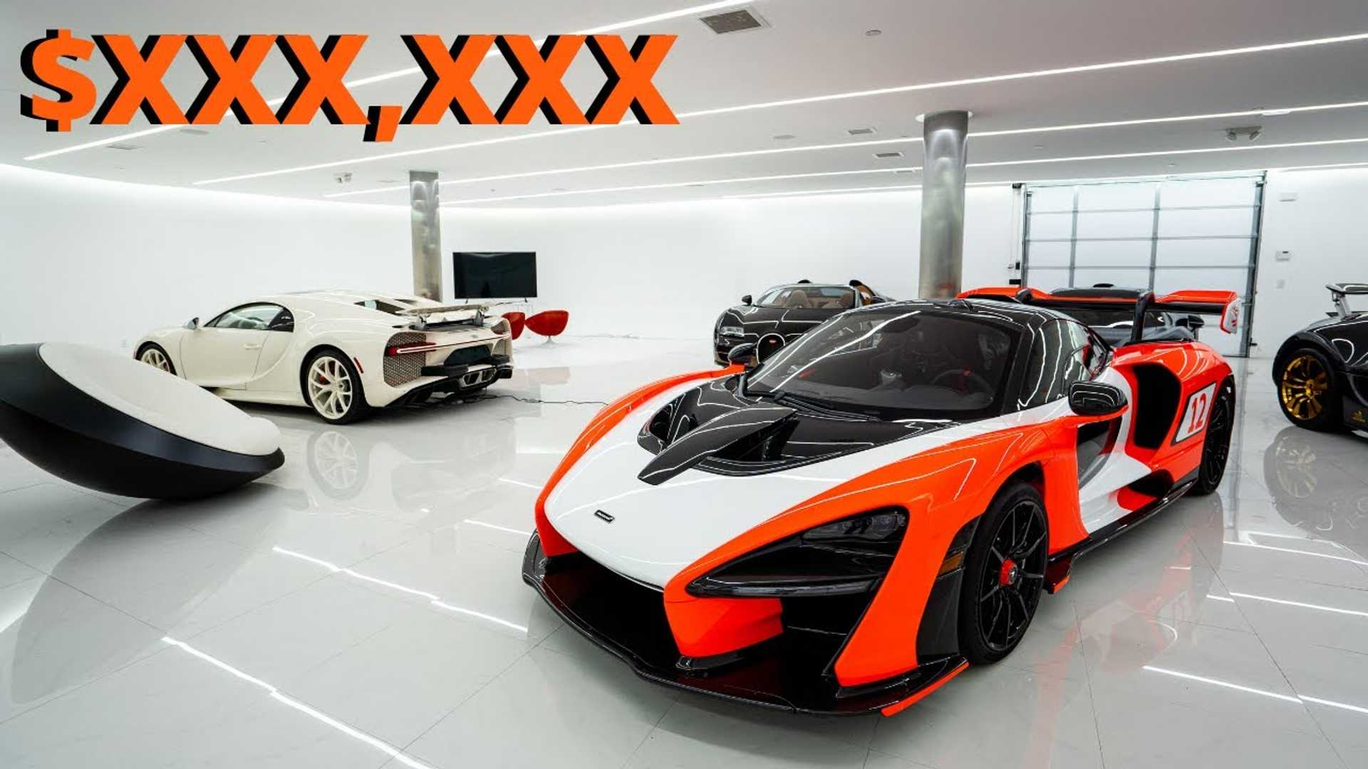 Supercar Collector Reveals Insane Cost To Maintain Collection