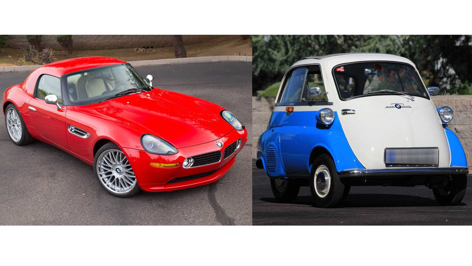 """[""""Comparing Two Very Different BMWs""""]"""