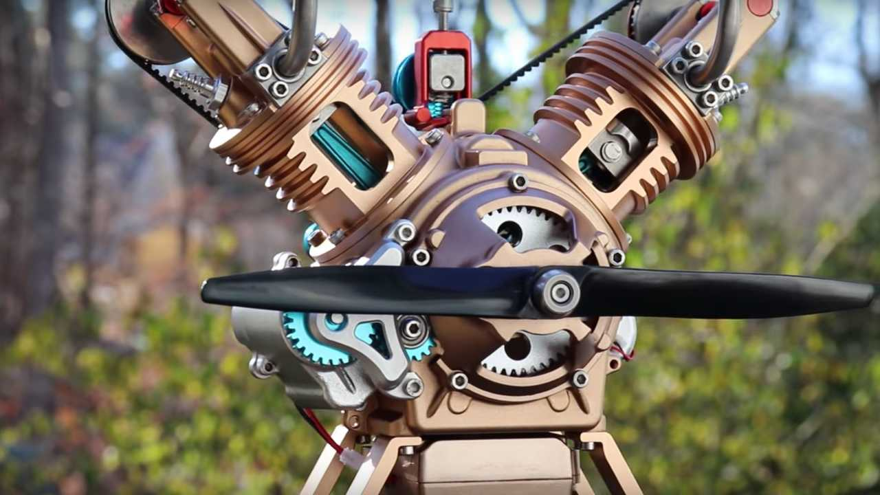 Pass Time With This Stop-Motion, Self-Assembling Engine Video