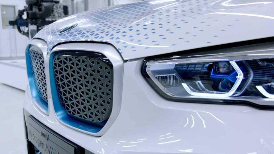 BMW idrogeno cop