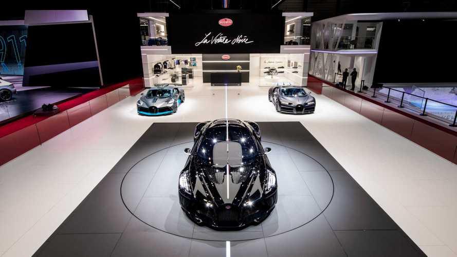 Bugatti - Une nouveauté sera présentée au Salon de Genève 2020