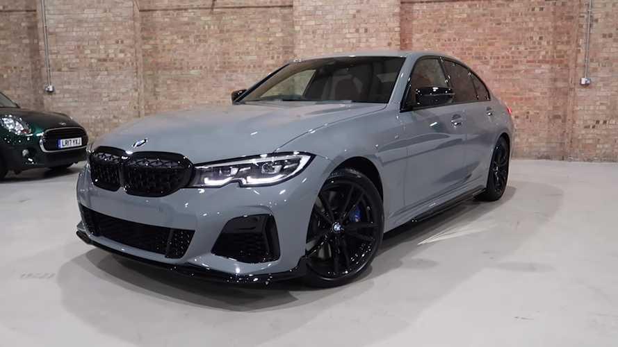 2020 BMW M340i xDrive with Nardo Gray paint