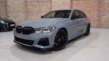 2020 BMW M340i xDrive with Nardo Gray paint