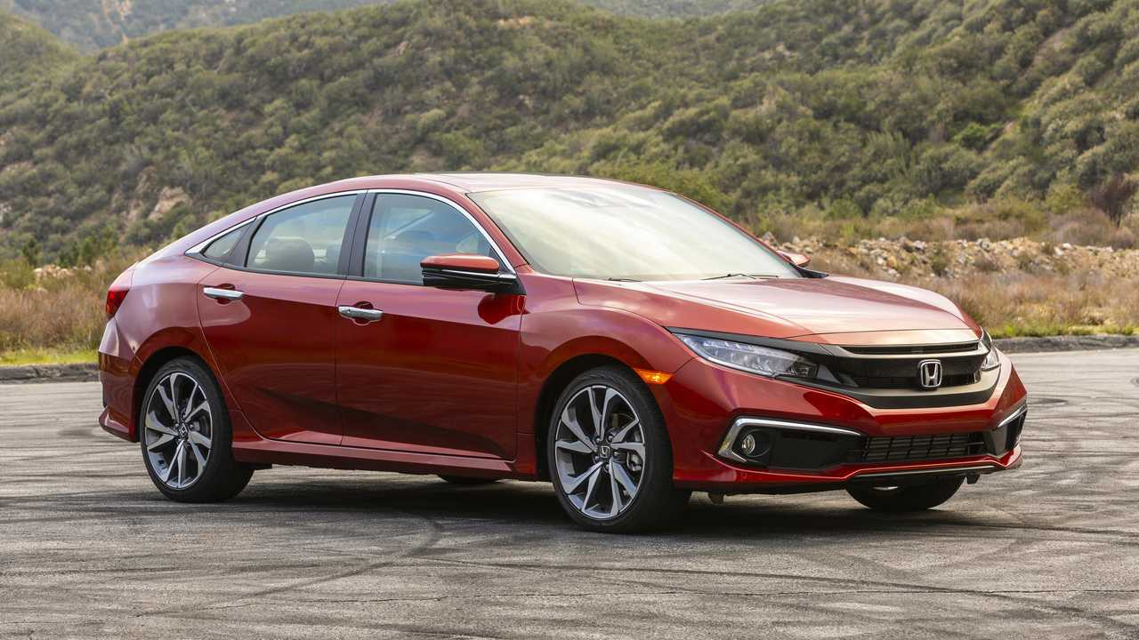 2. 2020 Honda Civic EX Sedan
