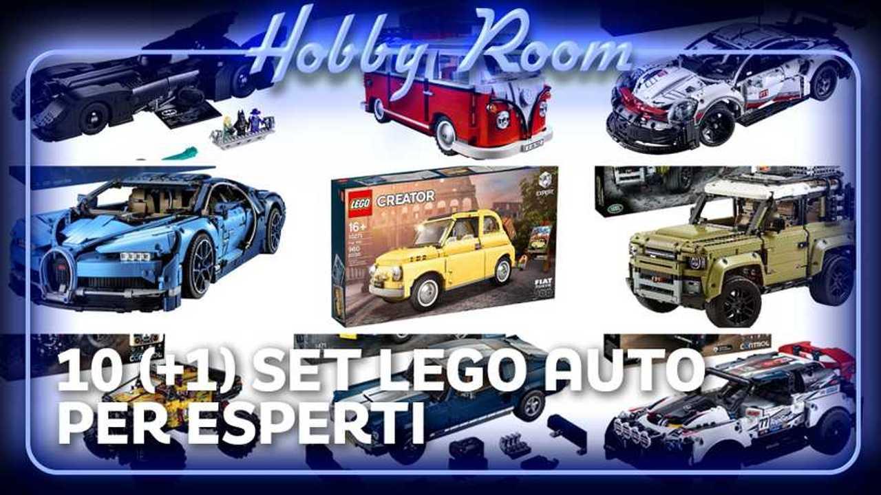 Copertina Lego auto esperti