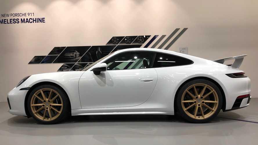 Porsche 911 2020 Sport Design Package (aerokit)