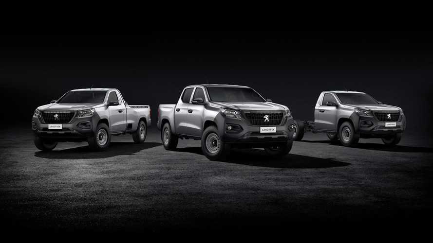 Peugeot Landtrek pickup debuts with 4x4, three body styles