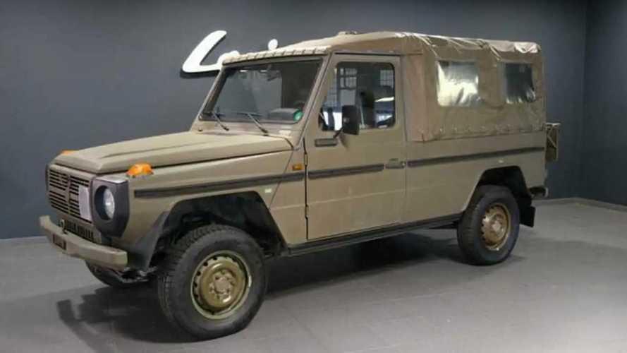 Mercedes/Puch G aus Armeebeständen bei Lorinser