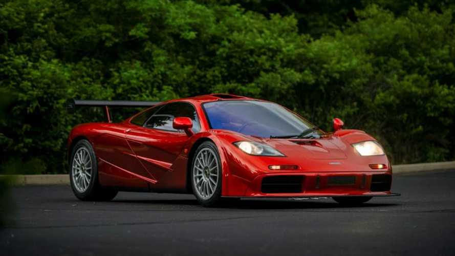 Penultimate McLaren F1 built is to be sold by RM Sotheby's