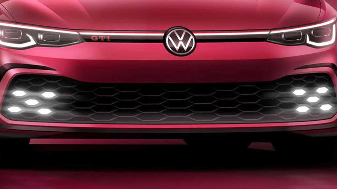 Teaser VW Golf GTI (2020)