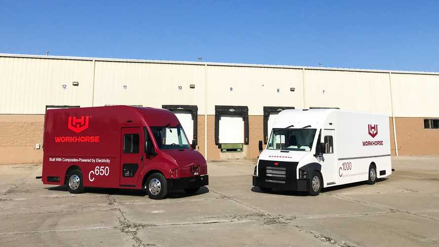 Workhorse C-Series Electric Delivery Trucks Approved For Sale