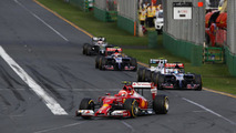 Kimi Raikkonen (FIN) Ferrari F14-T, 2014 Australian Grand Prix