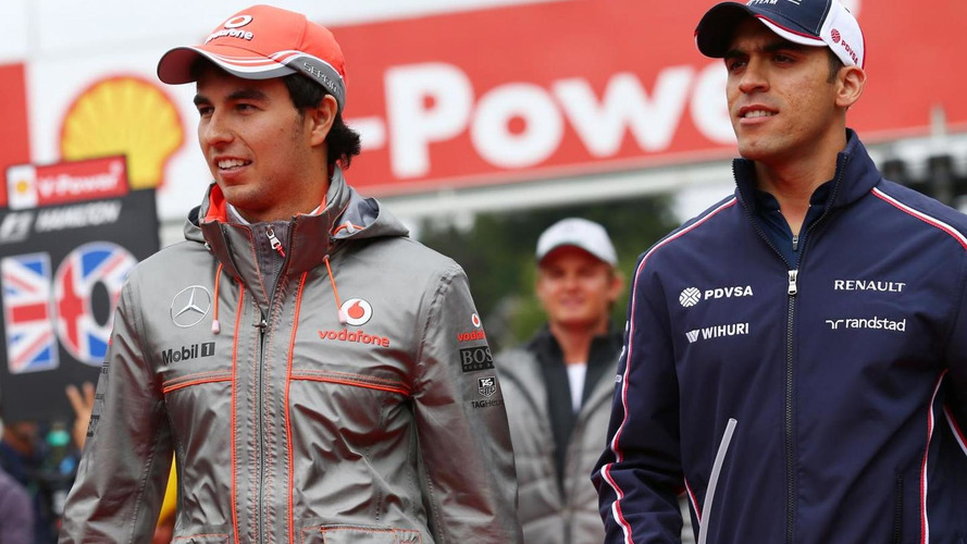 Perez worried, Maldonado happy after F1 team splits