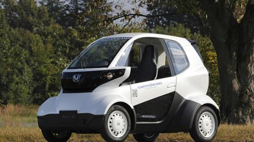 Honda micro electric commuter prototype unveiled, has an 80+ km range