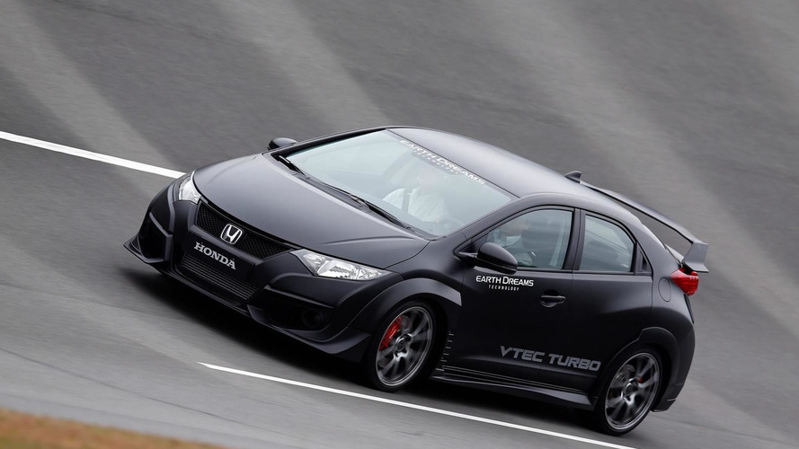 2015 Honda Civic Type R development prototype revealed [video]