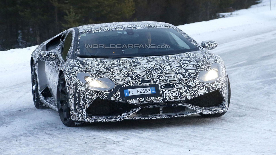Lamborghini Huracan spy photo 18.12.2013