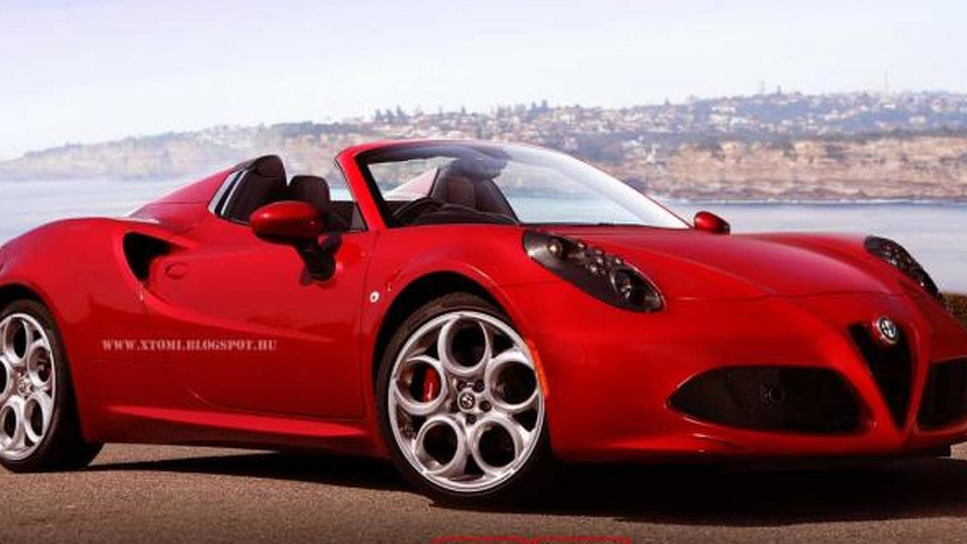 Alfa Romeo 4C Spider concept coming to Geneva - report