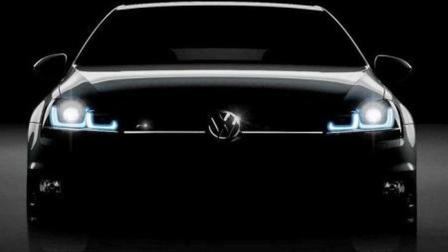 2014 Volkswagen Golf R teased?