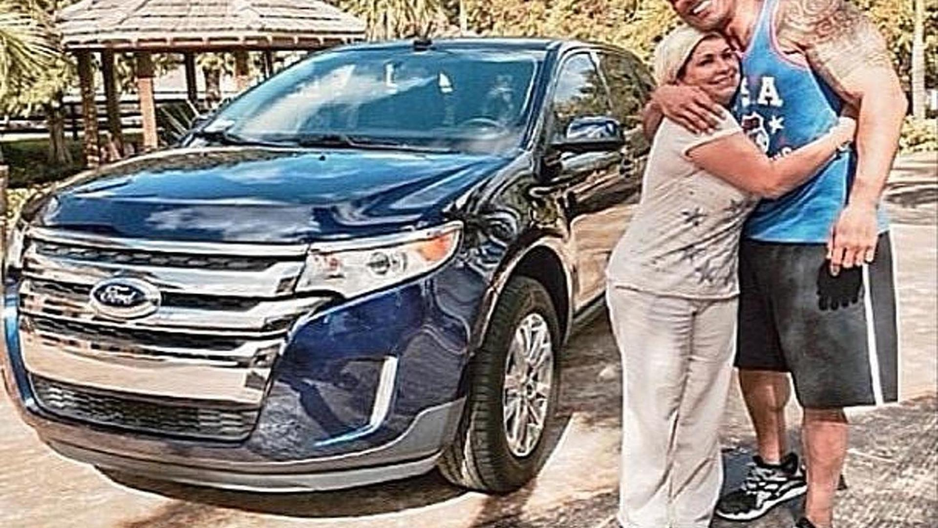 Dwayne Johnson Bought His Housekeeper A Brand New Ford Edge