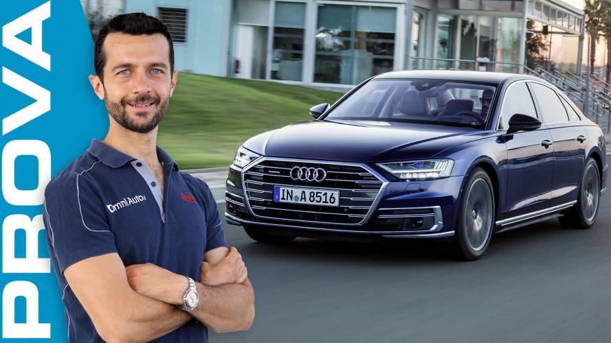 Audi A8, l'ammiraglia che sorprende