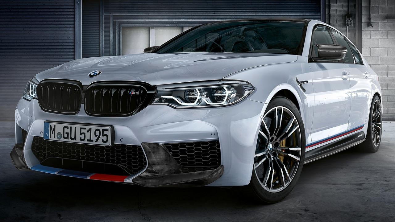 [Copertina] - BMW M5, più estrema con le M Performance Parts