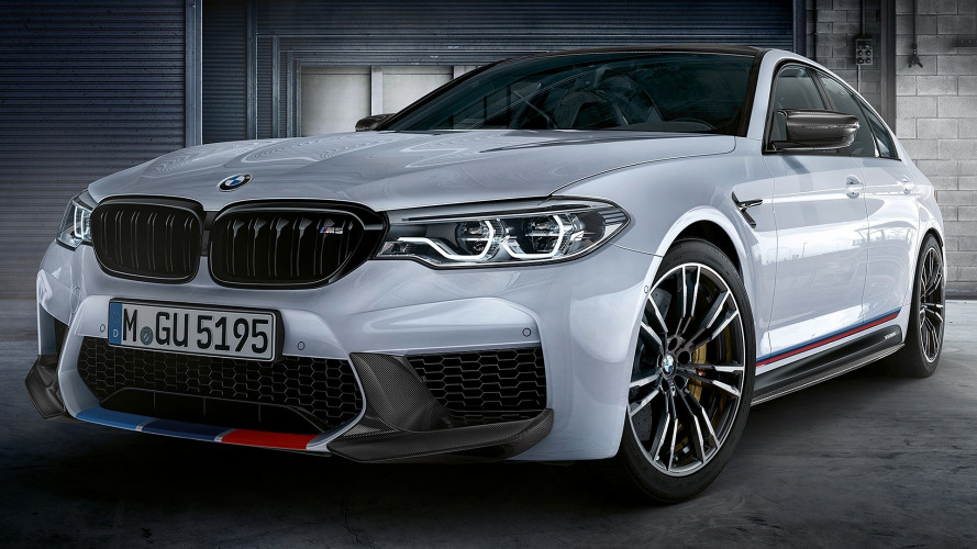 BMW M5, più estrema con le M Performance Parts