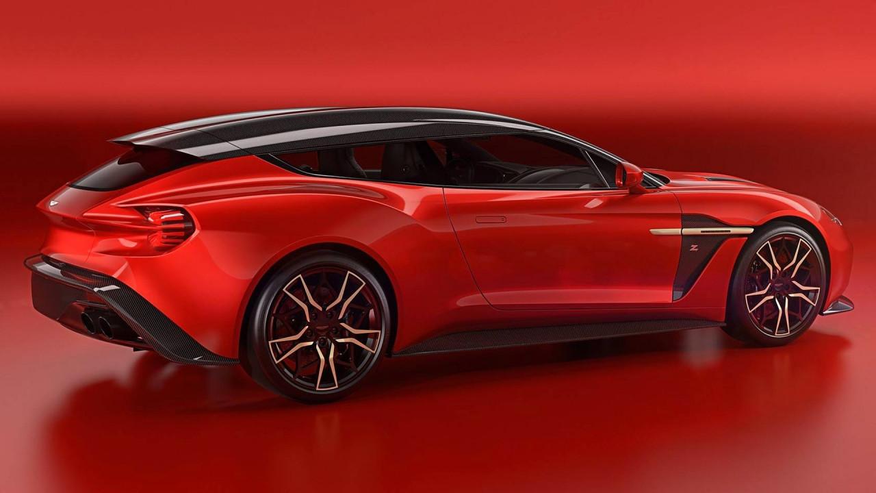 [Copertina] - Aston Martin Vanquish Zagato Shooting Brake, coda lunga sportiva