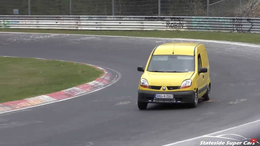 Best of des véhicules utilitaires et familiaux sur le Nürburgring