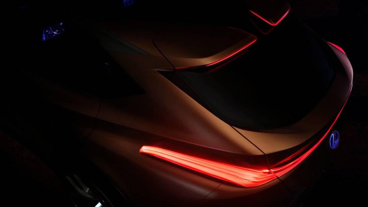 Lexus LF-1 Limitless Concept Detroit 2018 Teaser